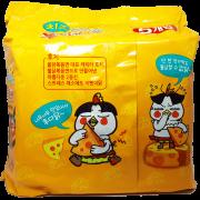 mì khô gà cay vị phô mai samyang
