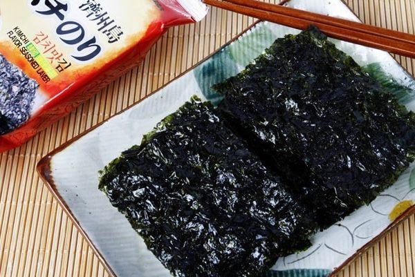 tảo biển vị kim chi