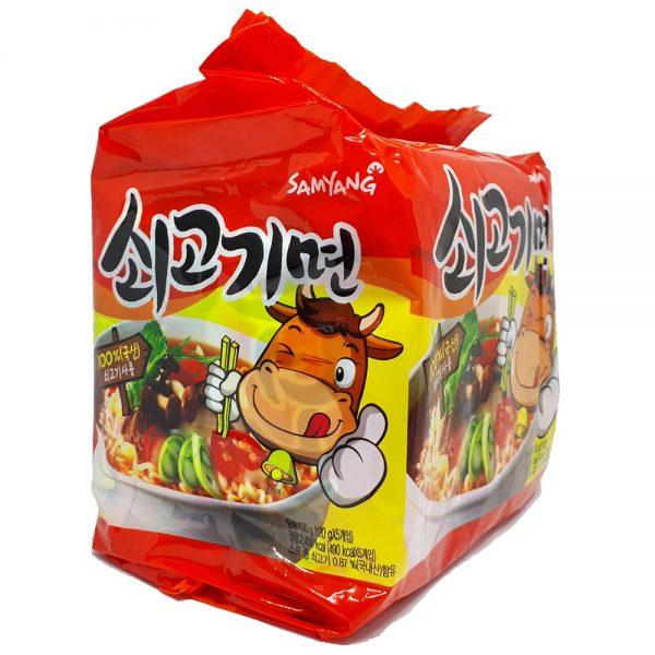 mì bò samyang