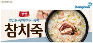 cháo ăn liền dongwon vị cá ngừ