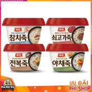 4 vị cháo ăn liền dongwon