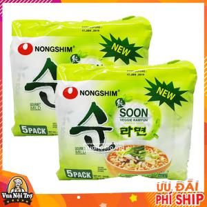 mì chay soon veggie nongshim - nhập khẩu hàn quốc