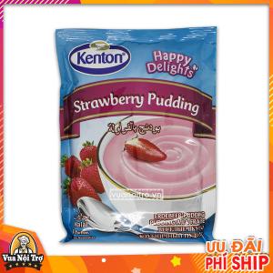 bột làm bánh pudding hương dâu