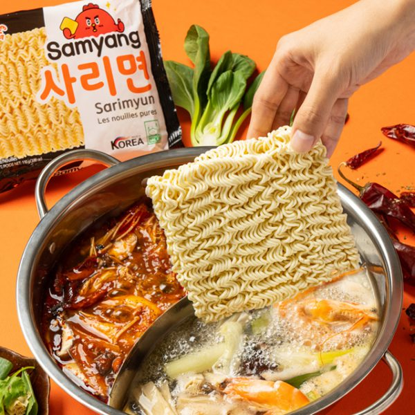 mì không vị samyang sarimyun